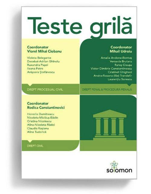Teste grila - Editura Solomon