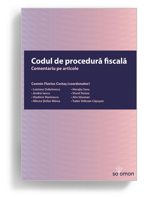 Codul de procedură fiscală. Comentariu pe articole
