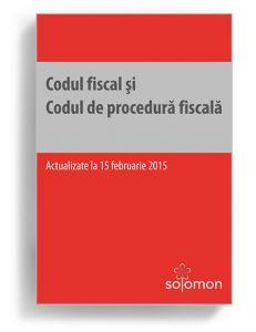 Codul fiscal si Codul de procedura fiscala - Editura Solomon