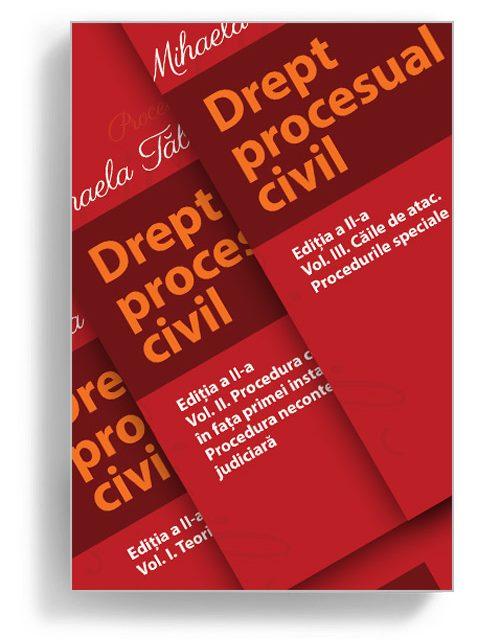 Drept Procesual Civil, Mihaela Tabarca - Editura Solomon