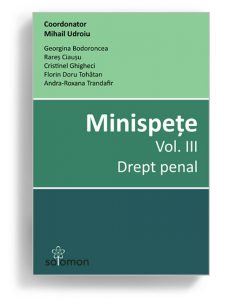Minispete - volumul 3 - Drept penal - Editura Solomon