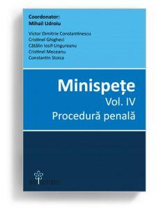 Minispete - volumul 4 - Procedura penala - Editura Solomon