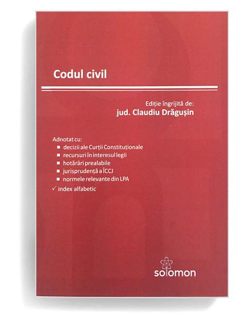 Cod Civil - Editura Solomon