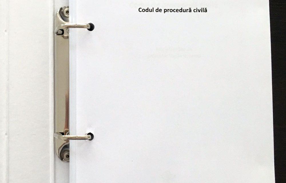 Codul de procedura civila - editura Solomon