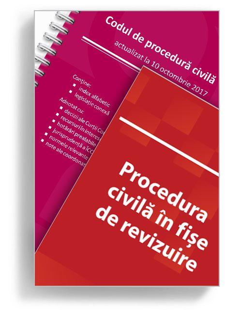 Pachet Cod De Procedura Civila - Editura Solomon
