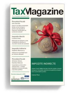 Abonament Tax Magazine - Editura Solomon