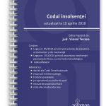 Codul insolventei - 10 aprilie 2018 - editura solomon