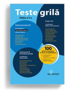 Teste Grila Drept civil, drept penal - editia 4 editura solomon