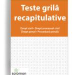 teste recapitulative drept civil - editura solomon