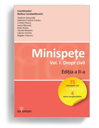 minispete drept civil volumul 1 editia 2 - editura solomon