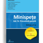 minispete vol 4 procedura penala - editura solomon