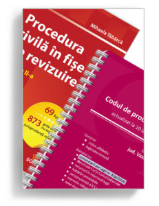 Pachet Procedura civila in fise de revizuire Codul de procedura civila editura solomon