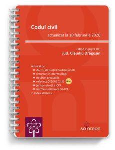 codul civil actualizat 10 februarie 2020 - editura solomon
