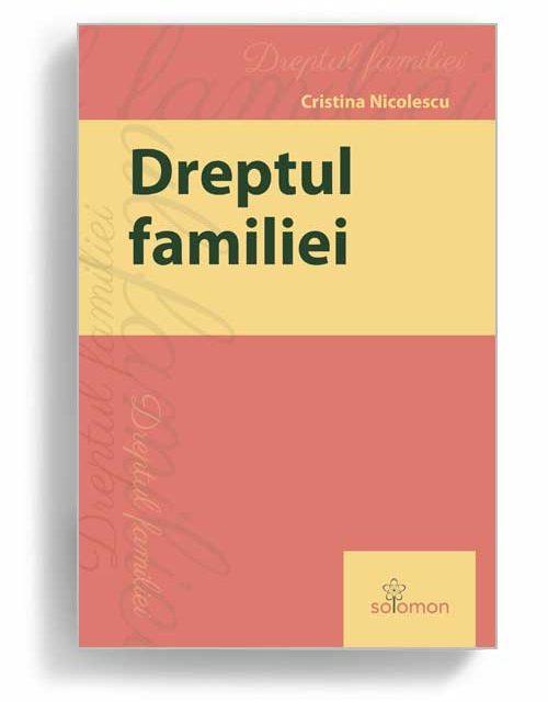 dreptul familiei - editura solomon